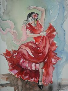 "EDITBAKK "" SPANISH DANCER """