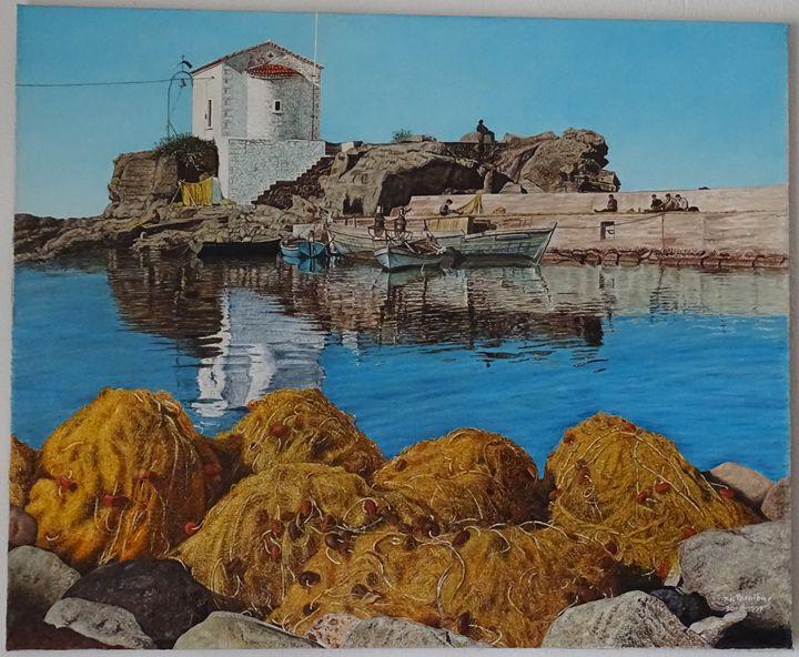 Fishing in greek island - XRISTOS
