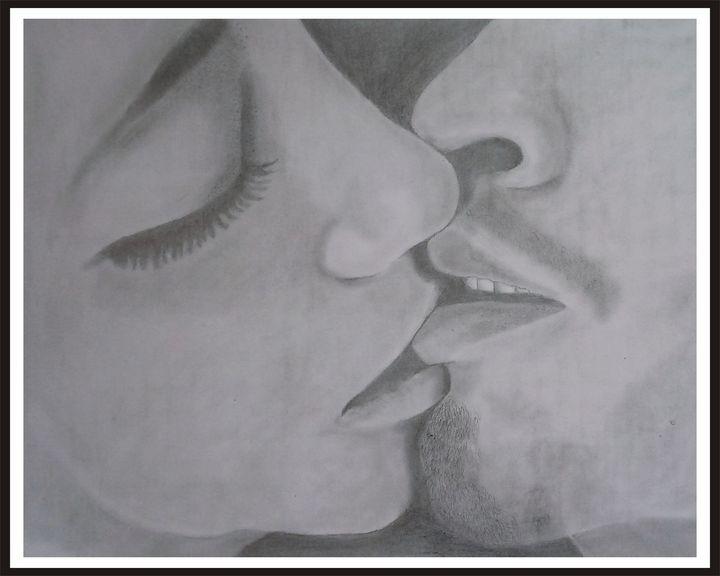 kissing lips - Kenny Adenaya