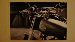 "Harley Davidson 36"" x 24"""