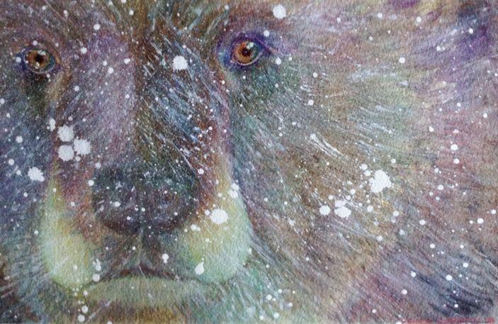 Snow Bear - CarmenArt