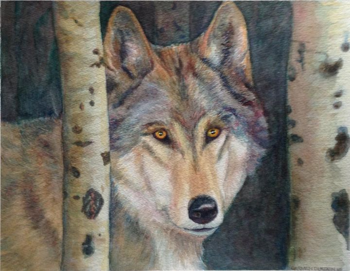 Wolf - CarmenArt