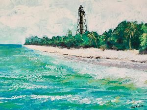 Sanibel Island Lighthouse - DanArtUSA