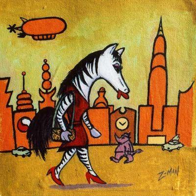 Urban Zebra - Zmanland