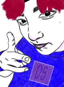 Cherry pink pie boi - JK
