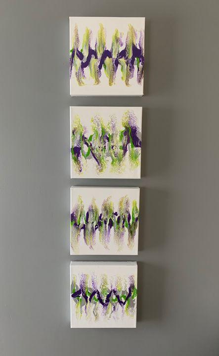 Handmade original  by artist(seller) - Abstract Art by Roger