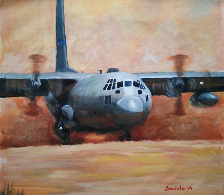 The desert landing - Dana Abrams