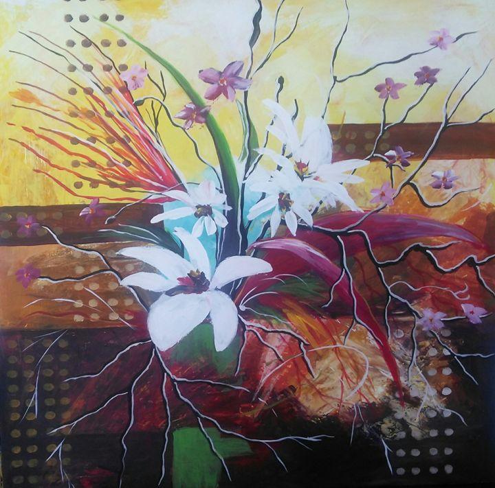 abstract flowers - Dana Abrams
