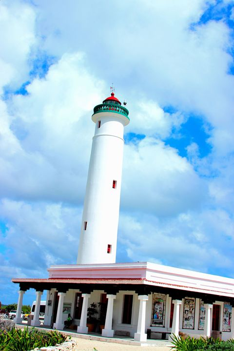 Lighthouse, Cozumel - Leslie AR