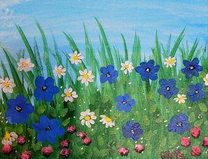 Flower Fields - Gracy's Arts