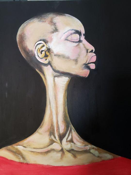 Long neck beauty - Ian Dave Knife