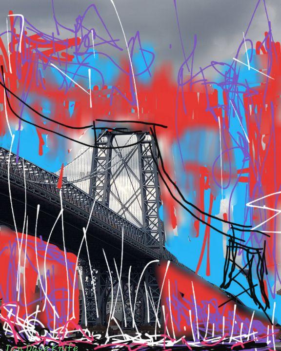 Williamsburg bridge - Ian Dave Knife