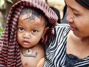 Mother and Child, Cambodia