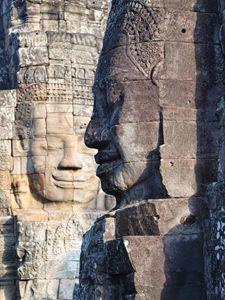 Ancient Faces.