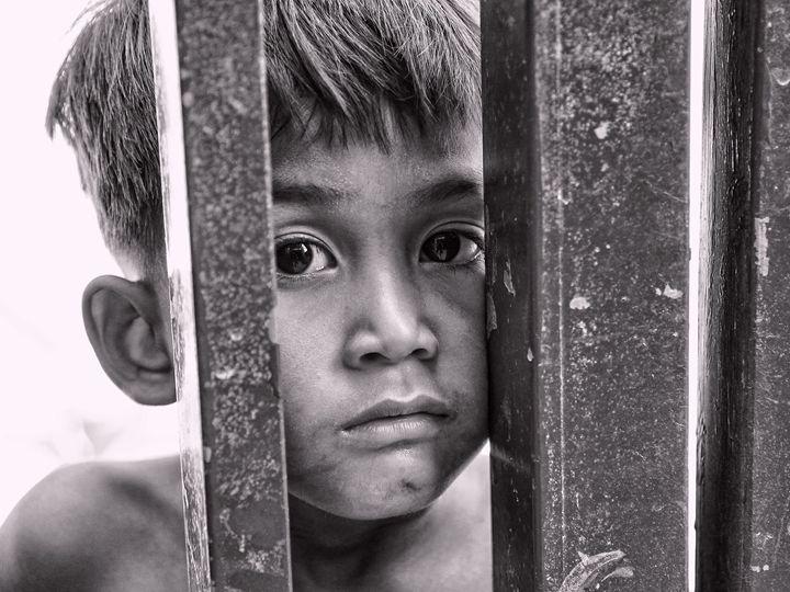 Peeking Boy - Ian Kydd Miller