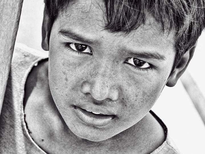 Boy with Sad Eyes - Ian Kydd Miller