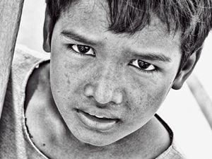 Boy with Sad Eyes