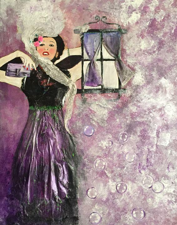 Purple Fantasy - Neelz Art
