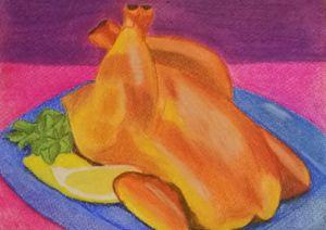 Roasted Chicken - George Tamser