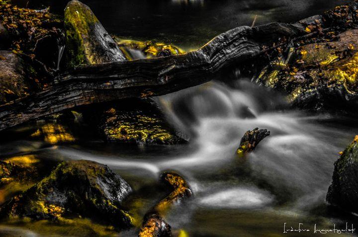 Golden Waterfall - IrènEve Augustyniak