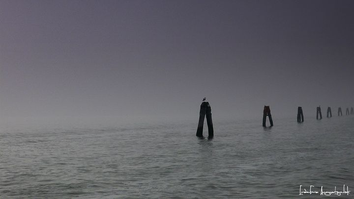 Venice in the fog - IrènEve Augustyniak