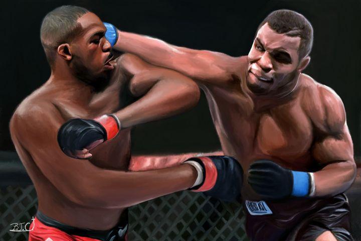 Jon Jones vs. Mike Tyson Dream MMA - Gallery Hope The Art of Loving Kindness