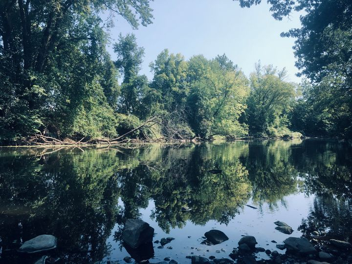 Stop and Fish the Pompton River - Gallery Hope The Art of Loving Kindness