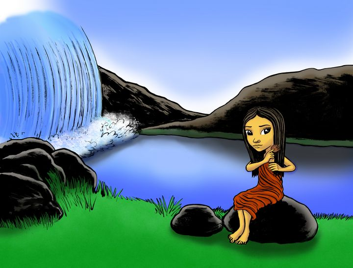 Waterfall and Mountain Meditation - Gallery Hope The Art of Loving Kindness
