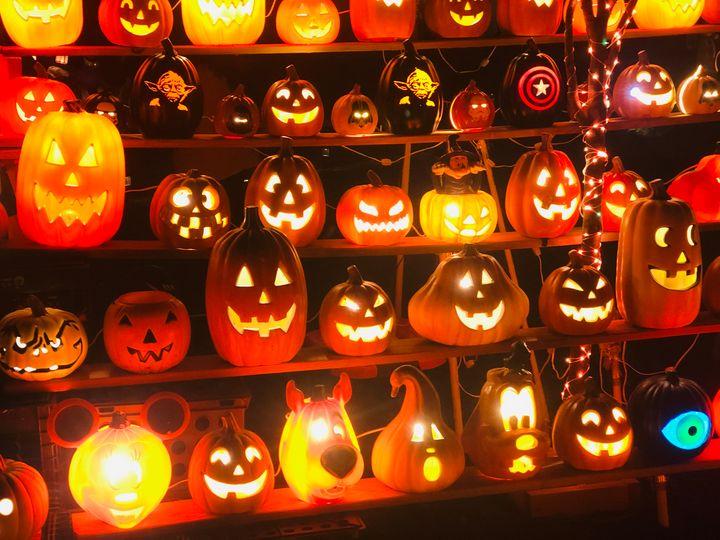 Halloween House Pompton Pumpkins - Gallery Hope The Art of Loving Kindness