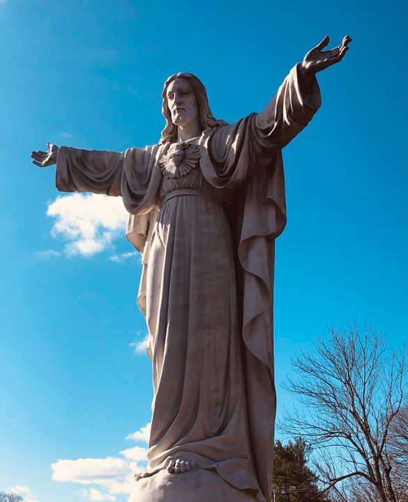 Jesus Christ is Lord of All Statue - Gallery Hope The Art of Loving Kindness