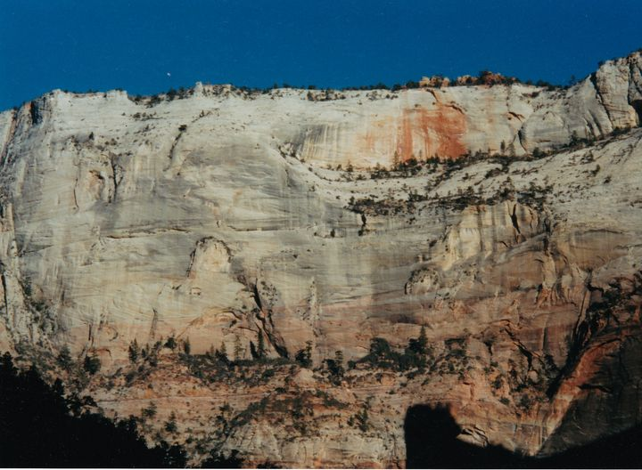 Cliff Face Zion National Park - Gallery Hope The Art of Loving Kindness