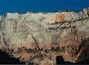 Cliff Face Zion National Park