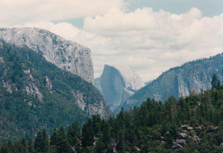 El Capitan and Half Dome at Yosemite - Gallery Hope The Art of Loving Kindness