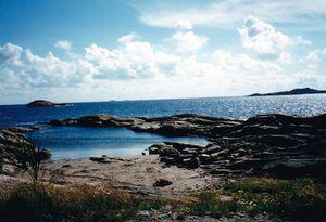 Islands of Kristiansand Norway