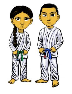 Karate Kids Martial Arts Warriors