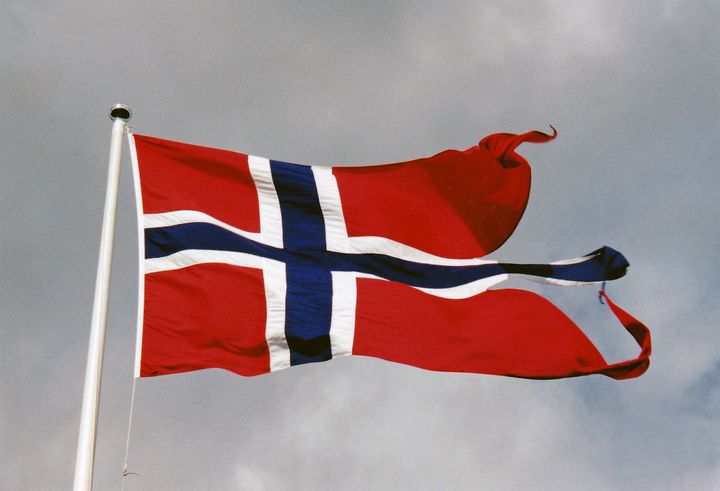 Norway Flag North Sea Military Base - Gallery Hope The Art of Loving Kindness