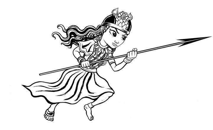 Meditation Fantasy Warrior Princess - Gallery Hope The Art of Loving Kindness
