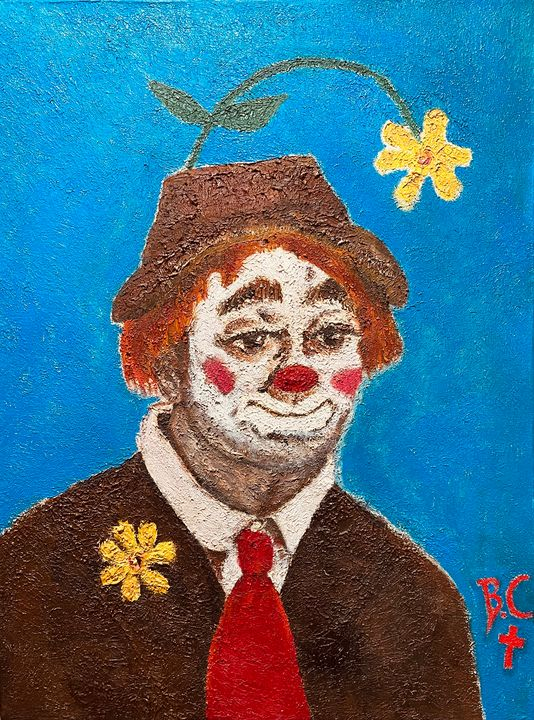 Comedian Richard Red Skeleton 1951 - Gallery Hope The Art of Loving Kindness