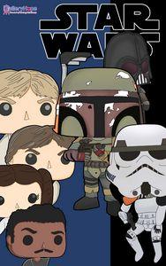 Star Wars Funko Pop Movie Tribute