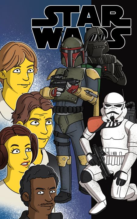 The Simpsons Star Wars - Gallery Hope The Art of Loving Kindness
