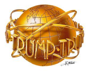 Donald Trump World Gold Globe NYC