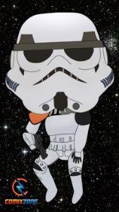 Storm Trooper Star Wars Funko Pop
