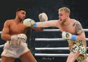 Jake Paul vs. Tommy Fury Boxing