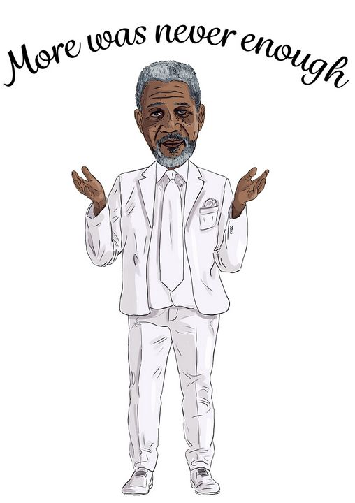 Morgan Freeman More Was Never Enough - Gallery Hope The Art of Loving Kindness
