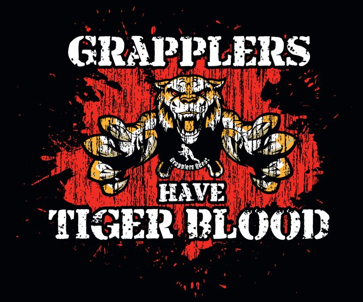 Grapplers have Tiger Blood - Gallery Hope The Art of Loving Kindness