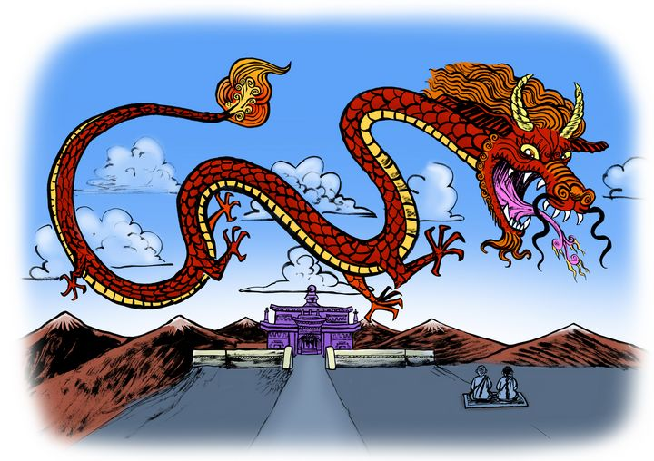 Dragon at the Temple - Gallery Hope The Art of Loving Kindness