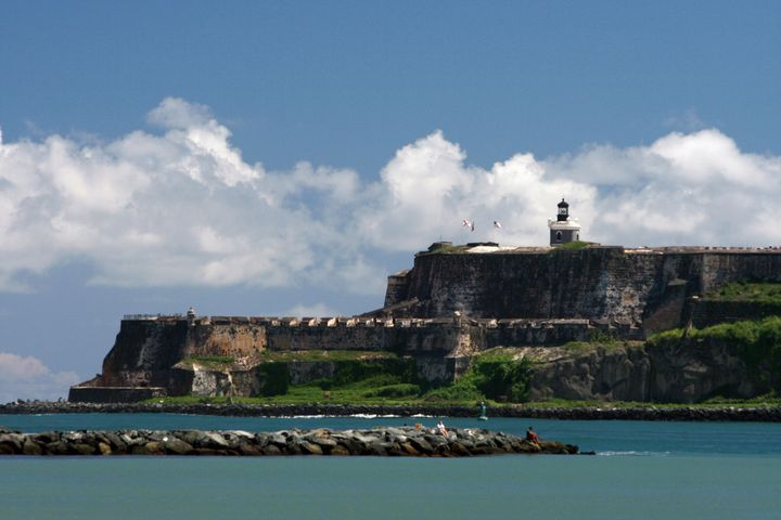 El Morro Castle San Juan Puerto Rico - Gallery Hope The Art of Loving Kindness