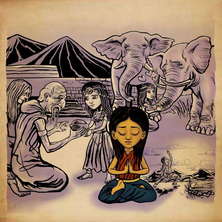Warrior Princess of Loving Kindness - Gallery Hope The Art of Loving Kindness