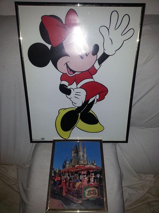 Walt Disney World art - moses  jones