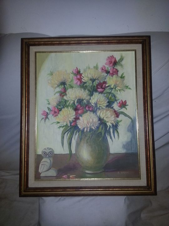 original painting - moses  jones